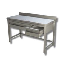 Unterkategorie - Arbeitstisch 0,6 m - Schubladen Aufkantung