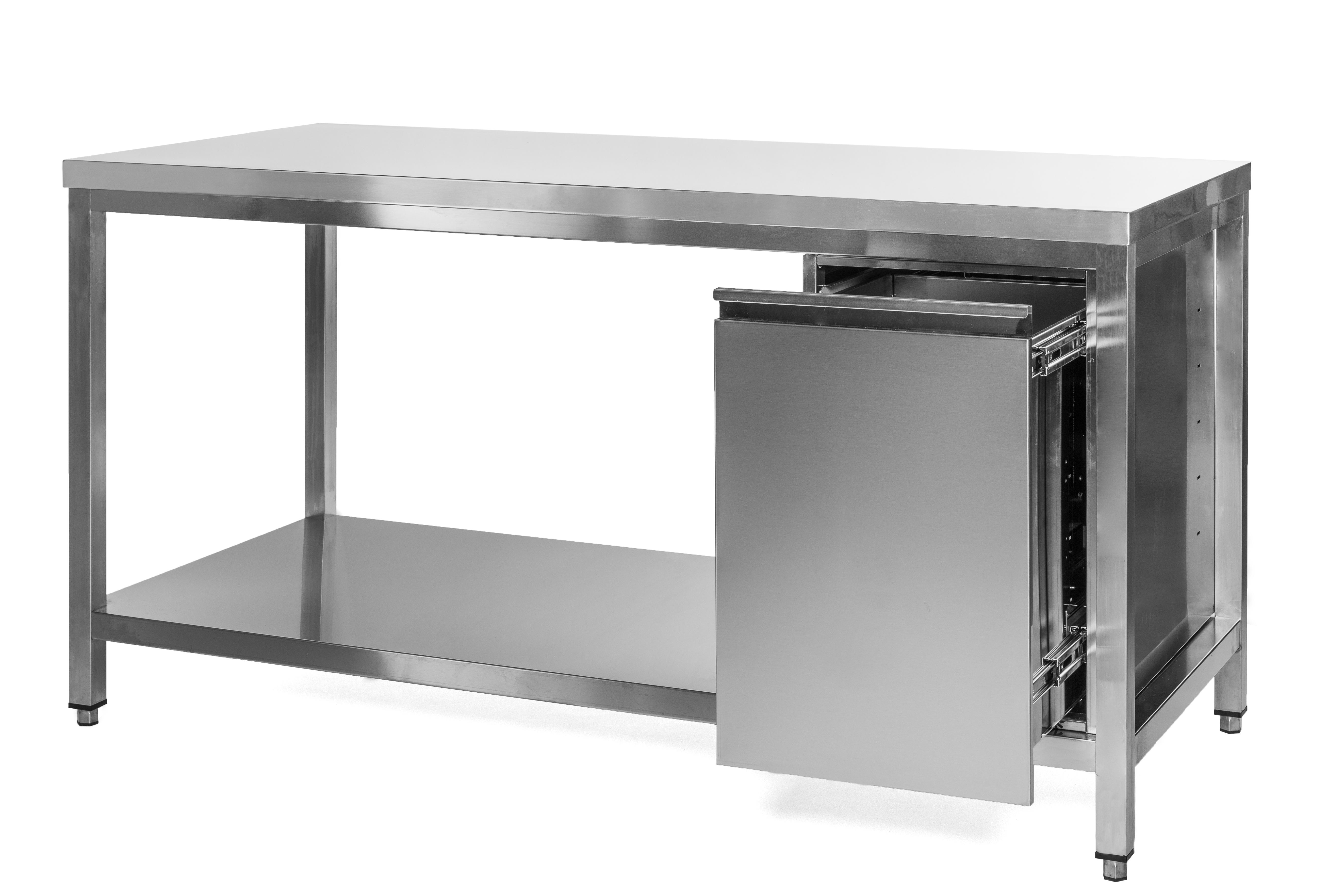 Unterkategorie - Arbeitstisch - 0,6 m Abfallbehälter Grundboden