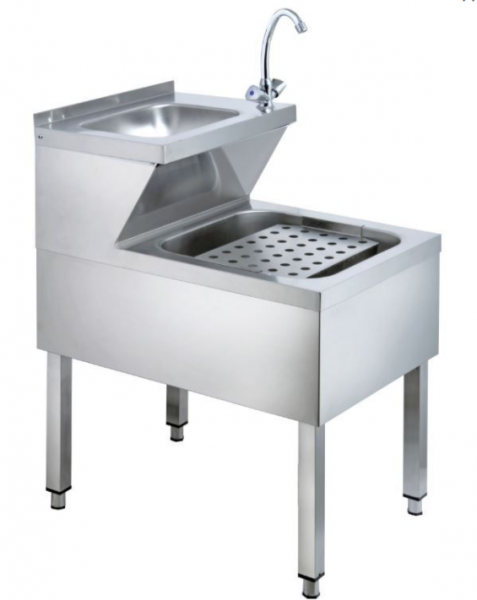 Handwaschausguss-Kombi - 0,5 x 0,7 m