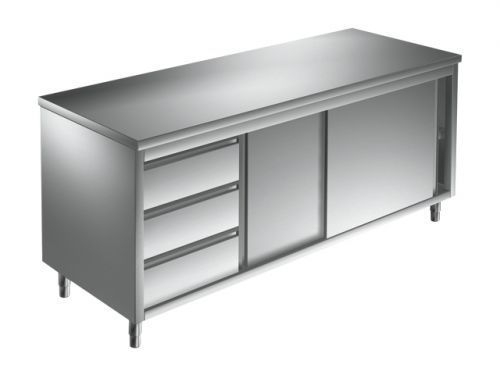 Unterkategorie - Arbeitsschrank 3 Schubladen - 0,6 m