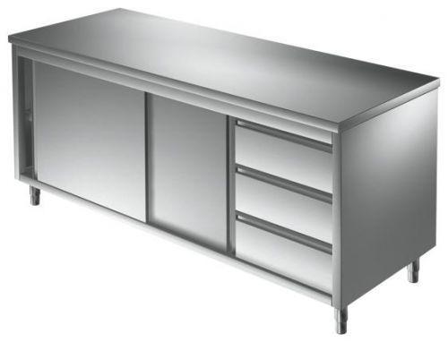 Unterkategorie - Arbeitsschrank 3 Schubladen - 0,7 m