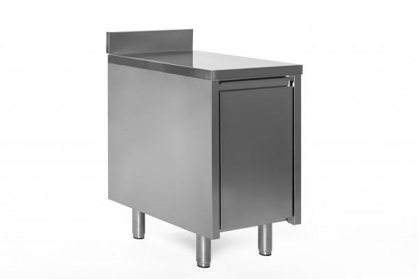 Abfallbehälterschrank 1 Schubl. - 0,5 x 0,6 mit Aufkantung