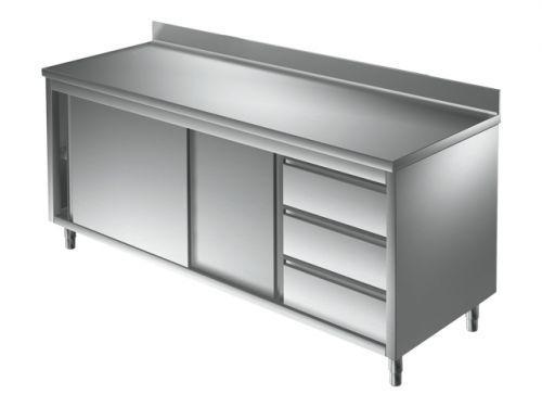 Unterkategorie - Arbeitsschrank 3 Schubladen - 0,7 m Aufkantung